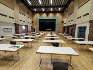 Spanisch-Abitur 2020 in der Jahnhalle